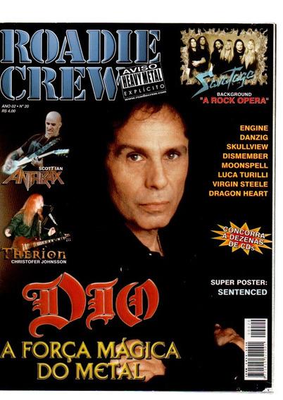 Roadie Crew Dio A Força Mágica Do Metal Nº 20