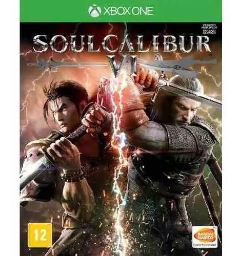 Jogo Soulcalibur Vi 6 - Soul Calibur -xbox One Física Lacr