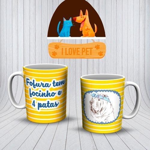 Imagem 1 de 10 de Canecas Personalizadas  Cães E Gatos !!!!