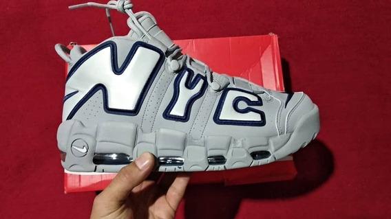 Zapatilla Nike Air Up Tempo Nyc Scottie Pipen 100% Autentico