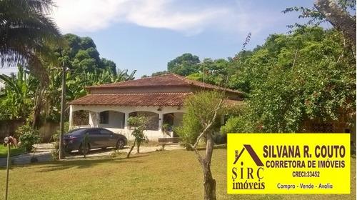 Imagem 1 de 15 de Itaipuaçu- Sítio 13.470 - Casa Sede 4 Quartos R$ 500 Mil - 198