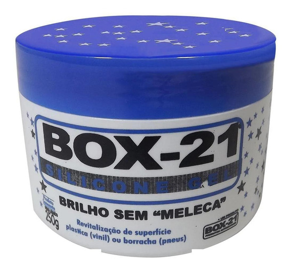 Silicone Automotivo Gel Box 21 - 250g