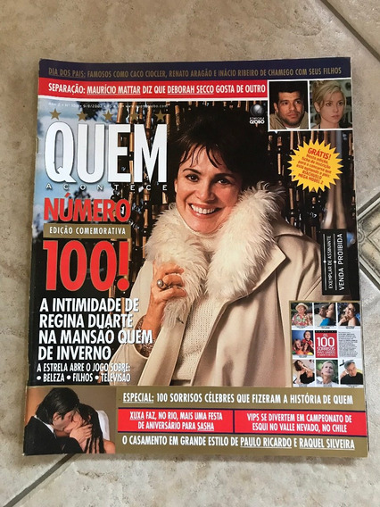Revista Quem Regina Duarte Paulo Ricardo Deborah Secco Didi