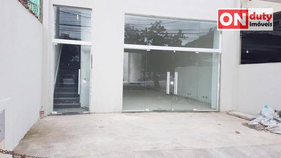 Prédio Para Alugar, 400 M² Por R$ 10.000/mês - Campo Grande - Santos/sp - Pr0035