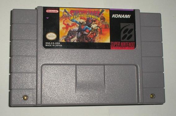 Sunset Riders Super Nintendo Reprogramado Excelente Joia..