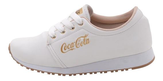 Tênis Coca Cola Sense Feminino Caminhada Academia Promoção