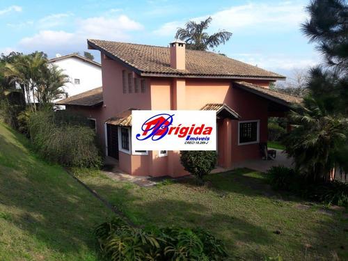 Linda Casa Em Condomínio, No Renoir Ii E Iii, Cotia! - Ca26