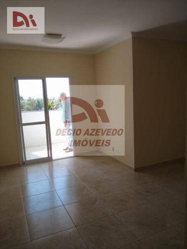 Apartamento Com 3 Dormitórios À Venda, 77 M² Por R$ 260.000,00 - Rancho Grande - Tremembé/sp - Ap0074