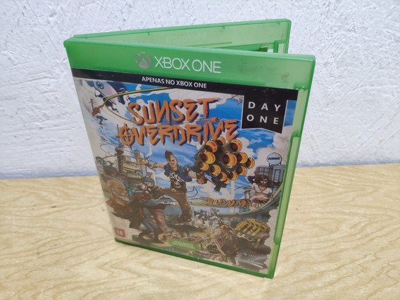 Sunset Overdrive Xbox One Mídia Física Semi-novo