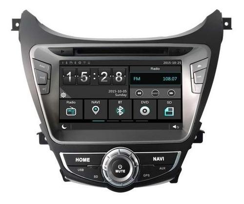 Radio Navegador Carro Hyundai Avante 2013 Gps Bluetooth