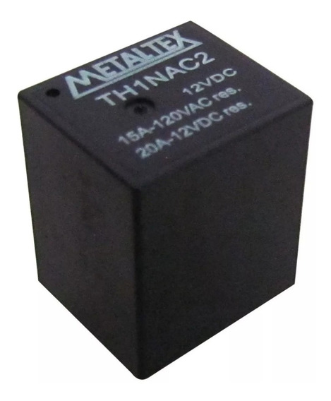 Relé Miniatura 12vdc Th1nac2 15a 120vac/20a 12vdc Kit C/ 5un