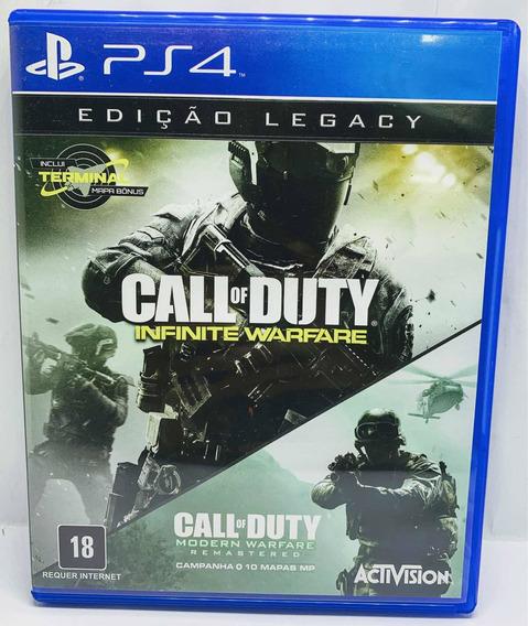 Call Of Duty Infinite Warfare Edição Legacy Ps4 Português