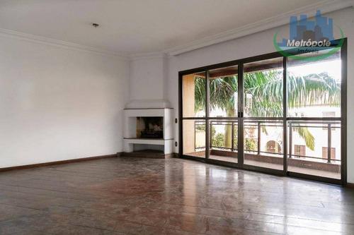 Apartamento À Venda, 170 M² Por R$ 1.280.000,00 - Ipiranga - São Paulo/sp - Ap1009