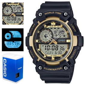 37a9cf1aa588 Reloj Casio Illuminator Dorado - Reloj de Pulsera en Mercado Libre ...