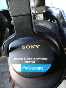 Fone De Ouvido Profissional Sony Mdr 7506