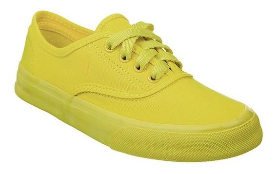 Tênis Feminino Coca Cola Kick Colors Amarelo - Cc0967