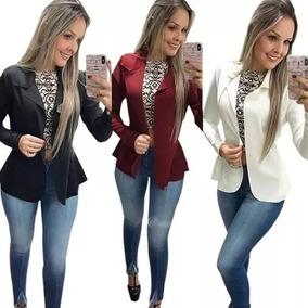 3f331c5378 Blazer para Feminino Não é impermeável em Santa Catarina no Mercado ...