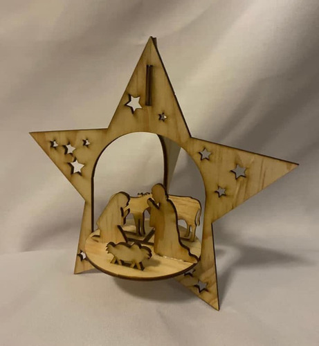 Imagen 1 de 5 de Mini Nacimiento Navideño