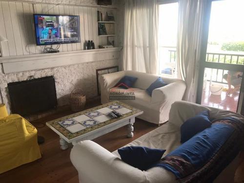 Brava, San Rafael, Frente Al Mar, Duplex 3 Dormitorios Y 2 Baños, Garage X 2, Gran Piscina!- Ref: 5479