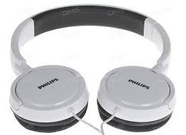 Auricular Philips Headphones En Blanco O Negro***