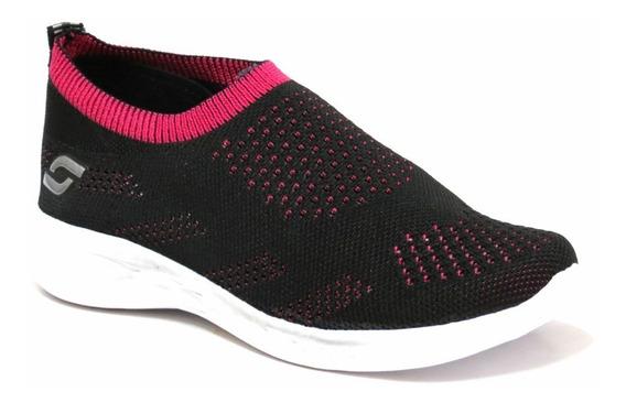 Zapatillas Mujer Elastizadas Livianas Soft 36 Al 40 5100s