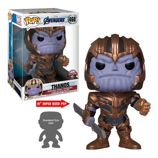 Funko Pop! - Marvel Avengers - Thanos #460 - 10 Pulgadas