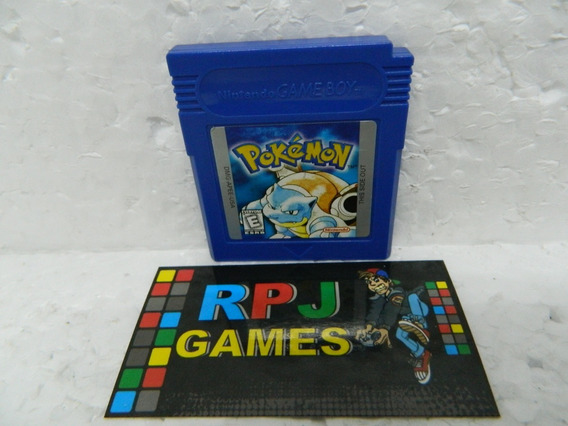 Pokemon Blue Azul Original Salvando P/ Game Boy Gb - Loja Rj