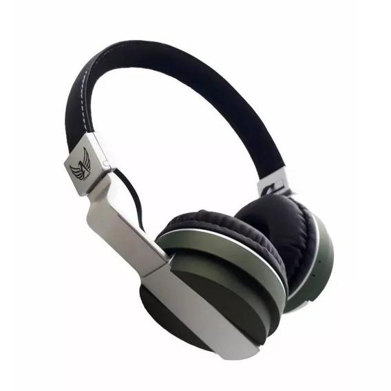 Fone Ouvido Bluetooth Fm Cartão Sd Mp3 P2 - A-839 - Sem Fio