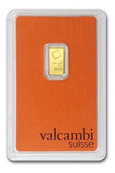 Robmar-lingote Oro Puro 0,999,9 De 1 G.blister Suizo Sellado