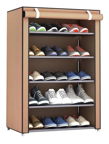 Estante De Zapatos De Tela No Tejida Organizador De Zapatos