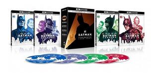 Batman 4 Film Collection 8 Blu-ray Ultra Hd 4k Nuevo Stock