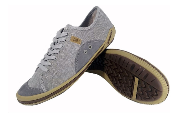 Zapatillas Caterpillar Jonzed Canvas Urbana Gris Full Eezap