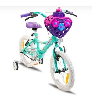 Bicicleta Nena Newton. Niños Rodado 16. Amore Con Rueditas