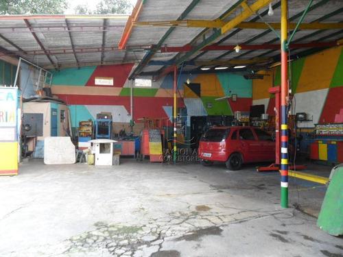 Galpão  Comercial À Venda, Parque Erasmo Assunção, Santo André. - Ga0106