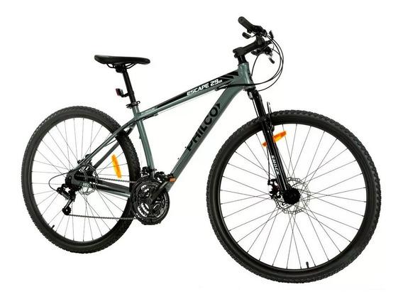 Bicicleta Mountain Bike Rodado 29 Philco Aluminio 21 Cambios