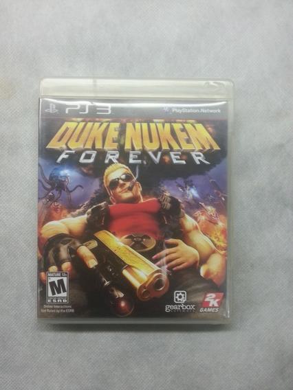 Jogo Ps3 Midia Fisica Usado Original Duke Nuken Forever