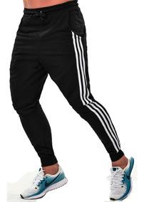 Calça Moletom Skinny Masculina Slim Luxo Casual E Academia