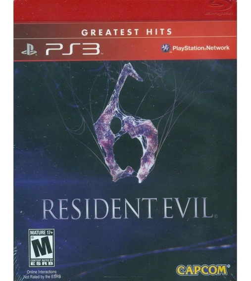 Ps3 - Resident Evil 6 , Midia Fisica Bluray, Semi Novo