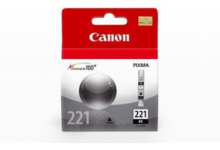 Cartucho Canon 221 Negro (vencido)