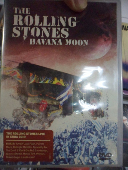 Dvd The Rolling Stones - Havana Moon