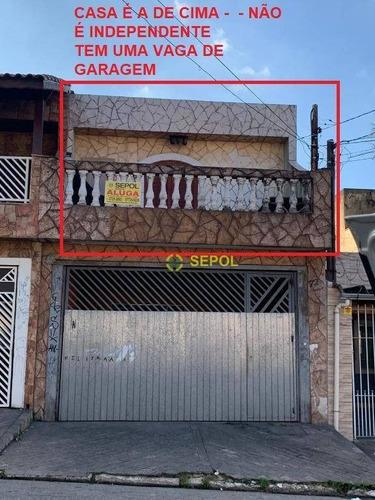 Sobrado Com 2 Dormitórios Para Alugar Por R$ 1.000,00/mês - Cidade São Mateus - São Paulo/sp - So0259