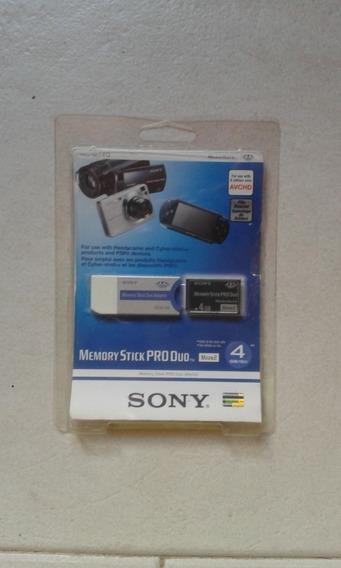 Memory Stick Pro Duo Mark2 4 Gb. Sony