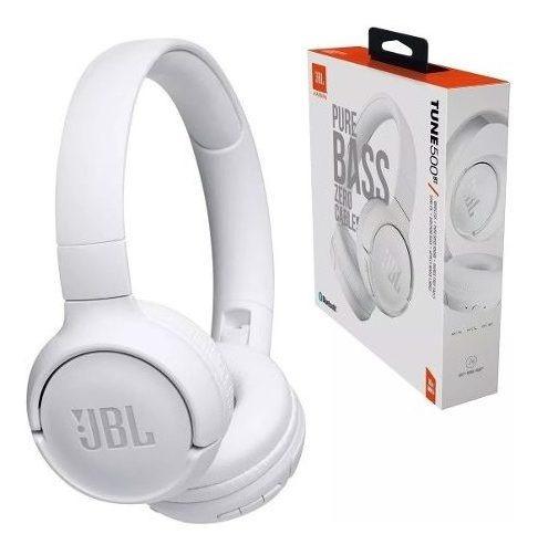 Fone Jbl T500bt Bluetooth Branco Garantia 1 Ano Nf