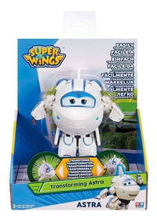 Superwings Figura Transformable 13cm Juego Juguete Tv Avion