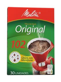 Filtro De Papel 102 Melitta - Cor Branco