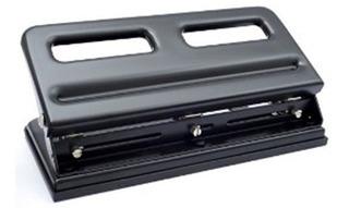 Perforadora De 3 Huecos Metálica Premier 963 Semi Industrial