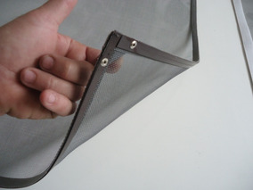 Tela Mosquiteira C/imã P/ Janela De Aço/alumínio 12x.s/juros