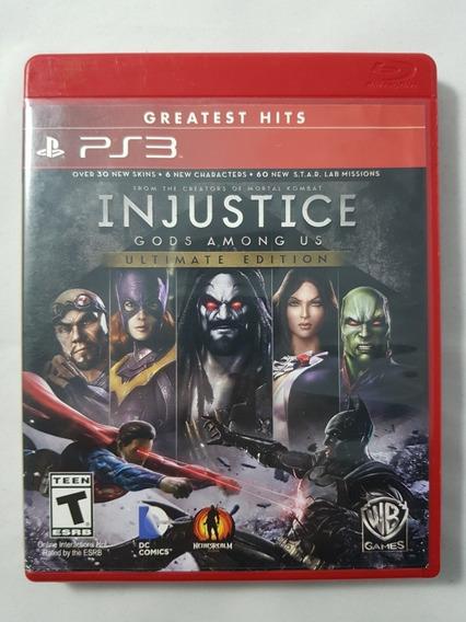 Injustice Gods Amoung Us Ultimate Edition Em Português Ps3