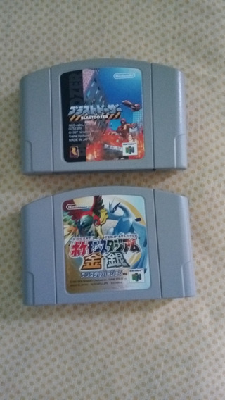 Lotes Com 2 Super Jogos N 64 Versão Japonesa