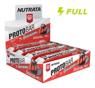 Proto Bar Nutrata (caixa 8 Unidades) Nutrata Proteina Barra